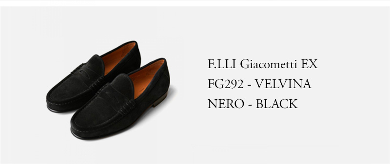 F.LLI Giacometti EX - FG292 - VELVINA NERO - BLACK