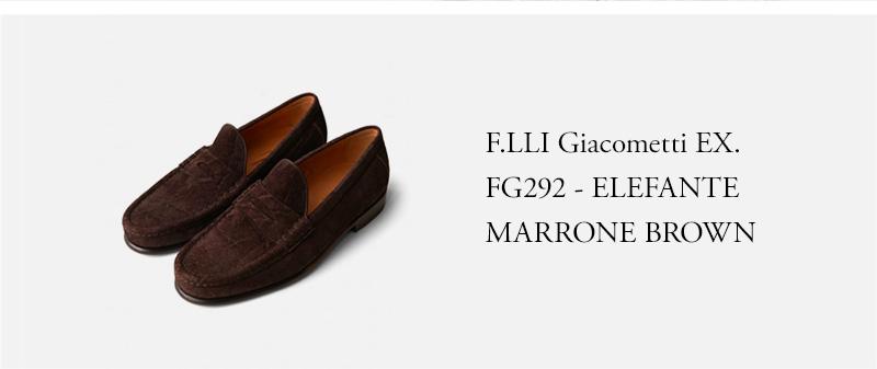 F.LLI Giacometti EX. FG292 - ELEFANTE MARRONE - BROWN
