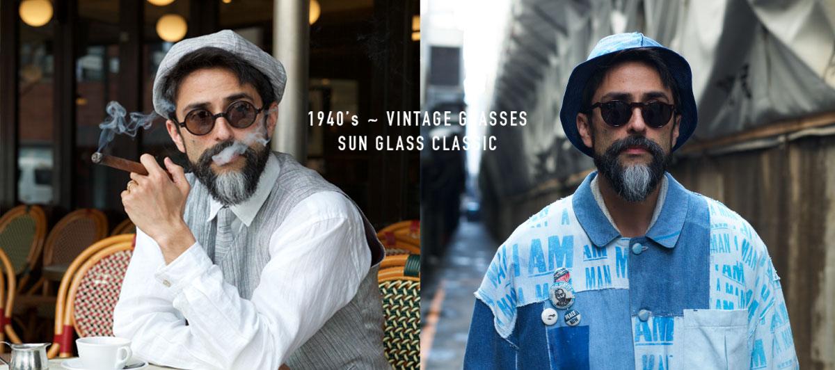 OPTICALS|1960s France & Btitish VINTAGE FRAMES
