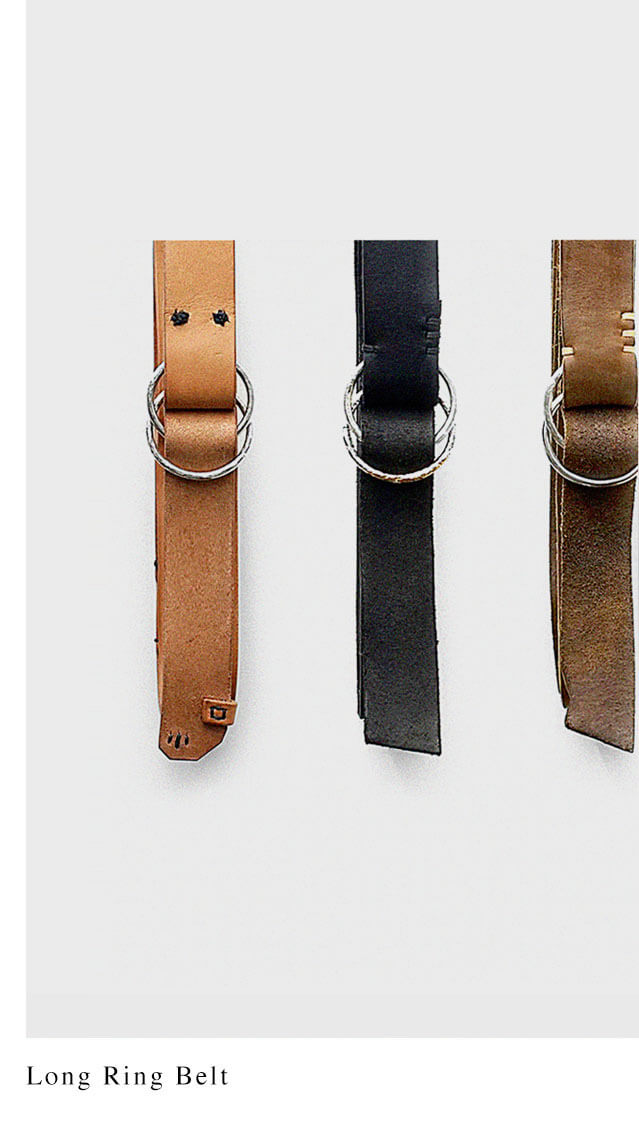 DEEP POCKET LONG RING BELT